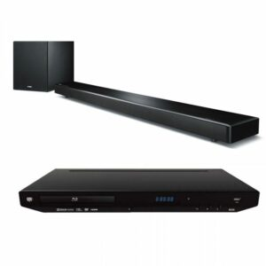 Yamaha YSP-2700 and GMI Audio BD S200 Blu-Ray Player Combo