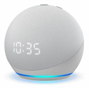 Amazon Echo Dot (4th Gen) - Smart Speaker With Clock And Alexa - White
