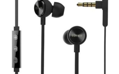 Edifier P293PLUS Wired In-Ear Earphones (Black)