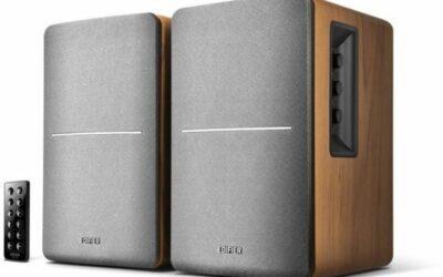 Edifier R1280DB Active Bookshelf or Multimedia Bluetooth Speaker Pair (Brown)