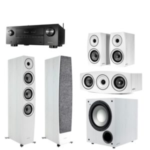 Jamo C97 II Home Theatre With Denon Front View
