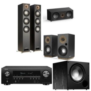 jamo s809 5.1 home cinema system with denon avr-s750h amplifier