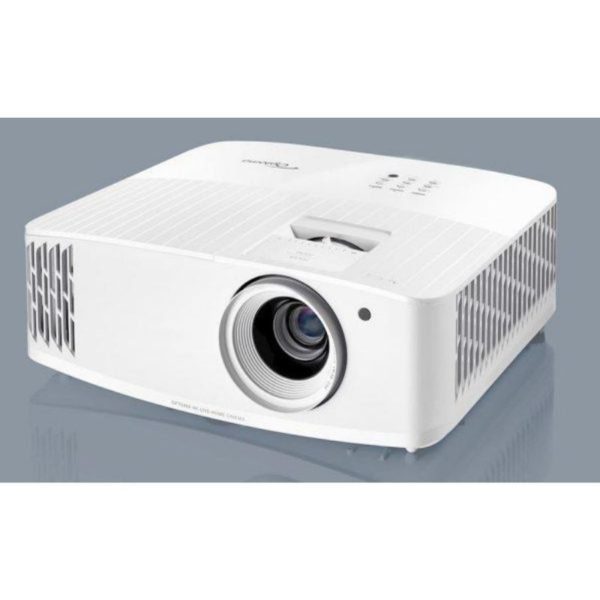 optoma uhd38 gaming projector side view