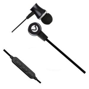 Volkano Chromium Bluetooth Earphones Front View