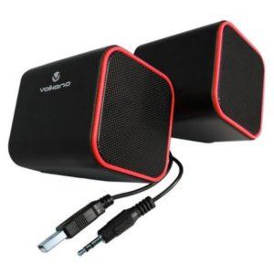 Volkano Diamond USB Speakers Front View