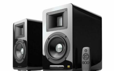 Edifier Airpulse A100 Hi-Res Audio Speakers (Pair – Black)