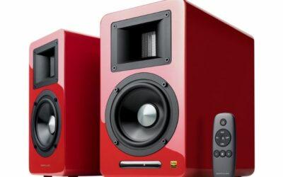 Edifier Airpulse A100 Hi-Res Audio Speakers (Pair – Red)