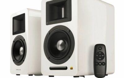 Edifier Airpulse A100 Hi-Res Audio Speakers (Pair – White)