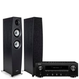 Jamo C95II Stereo System With Denon DRA-800H Amplifier