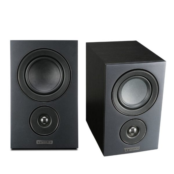 mission lx-2 standmount / surround speakers black