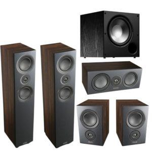 Mission LX4 5.1 Speaker Package (Walnut Pearl