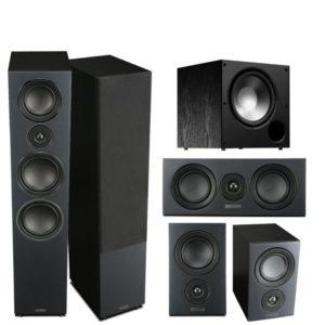 Mission LX5 5.1 Speaker Package (Black)