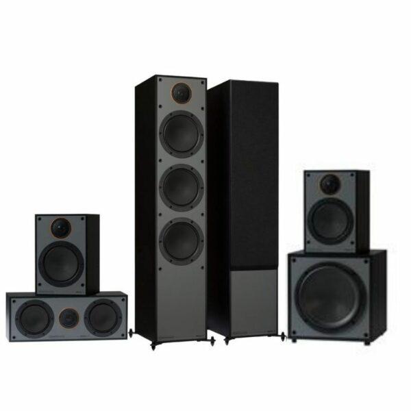 monitor audio monitor 300 5.1 system black