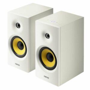 Edifier R1080BT Active Bookshelf/Multimedia Speaker (White)
