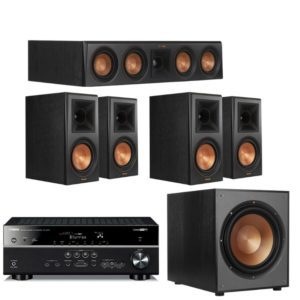Klipsch RP600M 5.1 Home Theatre System With Yamaha RX V4A Amplifier