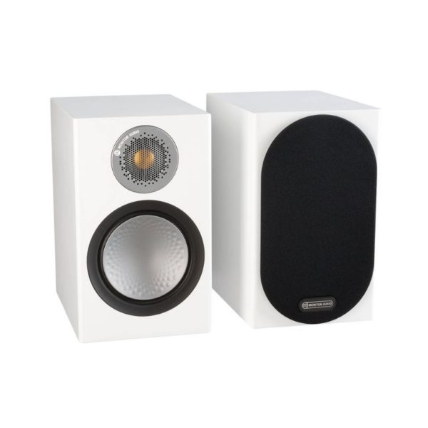 monitor audio silver 50 speaker front view