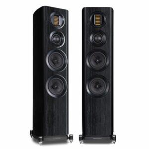Wharfedale Evo 4.3 3-way Floorstanding Speakers (Black)