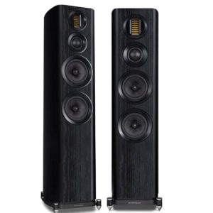 Wharfedale Evo 4.4 3-way Floorstanding Speaker (Black)