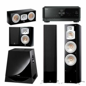 Yamaha NS-777 5.1 Home Theatre Package With Yamaha RX-V4A Amplifier