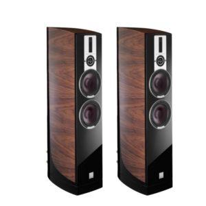 Dali Epicon 6 Floorstanding Speakers Pair (Walnut) - Warehouse Clearance