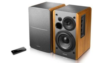 Edifier R1280DBs Desktop/Bookshelf/Gaming Speaker Pair (Brown)