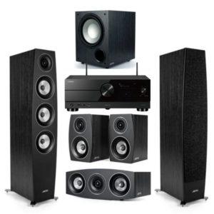 jamo c97 ii 5.1 home cinema system plus yamaha rx a2a amplifier