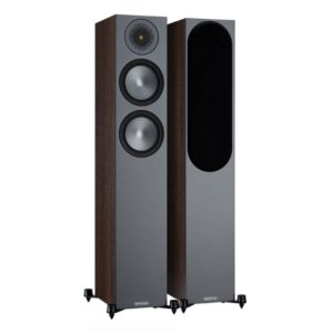Monitor Audio Bronze 200 Floorstanding Speakers (Walnut) 6G Pair