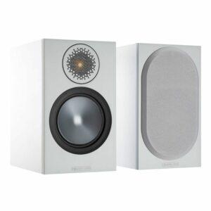 Monitor Audio Bronze 50 Bookshelf Speakers 6G Pair (White)