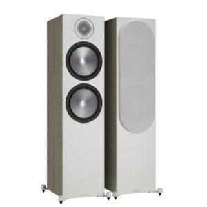 Monitor Audio Bronze 500 Floorstanding Speakers 6G Pair (Urban Grey) Pair