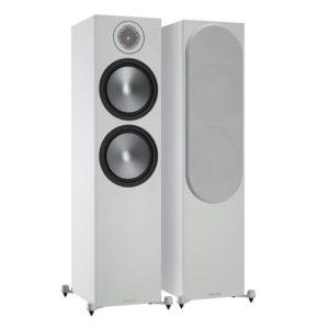 Monitor Audio Bronze 500 Floorstanding Speakers 6G Pair (White) Pair