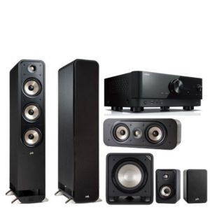 Polk Audio S60E Signature Series 5.1 System & Yamaha RX-V6A Amplifier - 2 ONLY