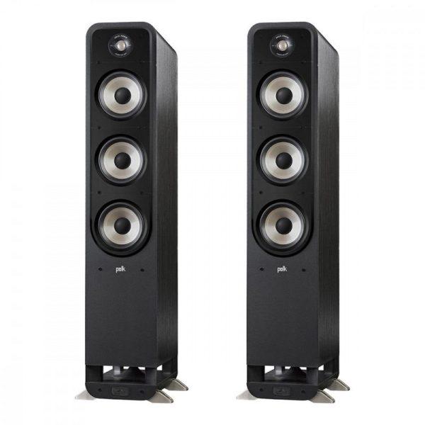 polk audio s60e speaker system floorstander view