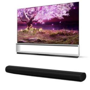 LG 88 inch OLED Z1 TV with Sonos ARC Soundbar