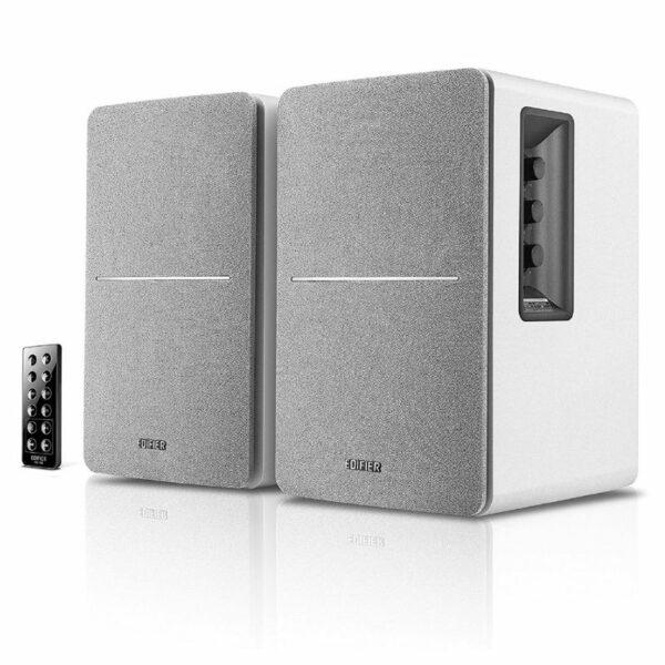 edifier r1280db active bookshelf or multimedia bluetooth speaker pair (white)