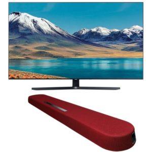 """Samsung 55"""" TU8500 Crystal UHD 4K Smart TV with Yamaha YAS108 Soundbar"""
