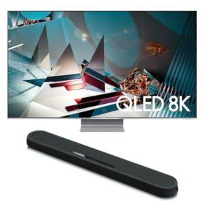 Samsung 82 Q800T TV Combo
