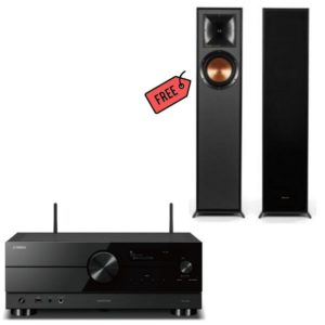 Yamaha RX A2A Receiver Plus Free Klipsch R610F Floorstanding Speakers