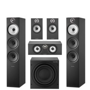 Bowers and Wilkins 60 3S2 5.1 Home Theatre System (White, Oak or Black)