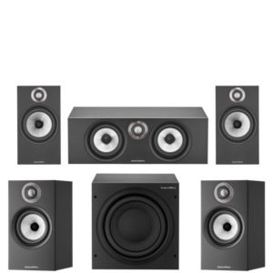 Bowers and Wilkins 606 S2 5.1 Home Theatre System (White, Oak or Black)