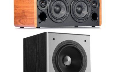 Edifier D12 Speaker and T5 Subwoofer Combo