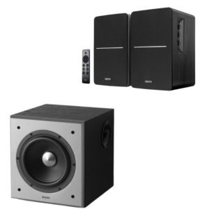 edifier r1280dbs speaker and t5 subwoofer combo