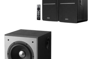 Edifier R1280DBs Speaker (Black) and T5 Subwoofer Combo