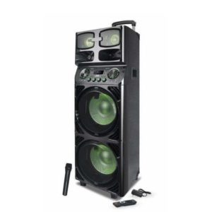 JVC XS-N819PB Portable Speaker System With LED Display