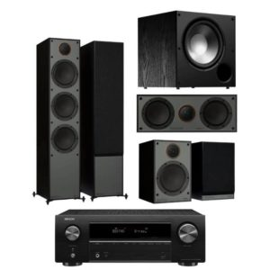 Monitor Audio Monitor 300 5.1 System with Denon AVR-x550BT
