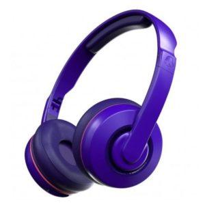 Skullcandy Cassette Wireless On-Ear Retro Purple Headphones