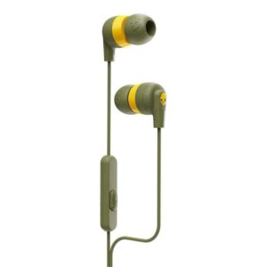 Skullcandy Inkd and In-Ear Headphones (Olive)