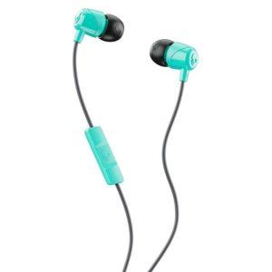 Skullcandy JIB In-Ear Headphones With Mic (Miami and Black)