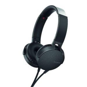 Sony MDR-XB550AP Extra Bass Headphones (Black)