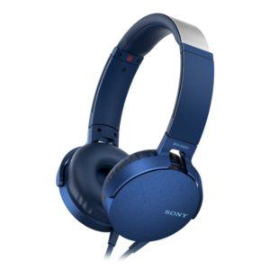 Sony MDR-XB550AP Extra Bass Headphones (Blue)
