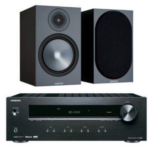 Monitor Audio Bronze 100 with Onkyo TX-8220 Amplifier